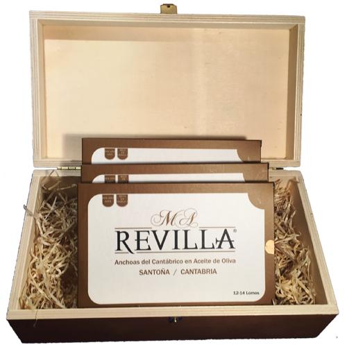 caja regalo anchoas